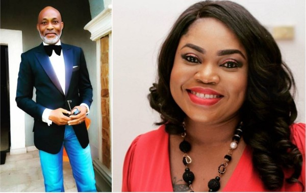 Richard Mofe-Damijo's lovely Birthday Shoutout to Wife Jumobi