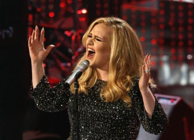 Something went wrong during Adele's Grammys performance?