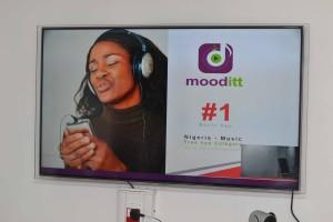 Mooditt 2.0 music app launch