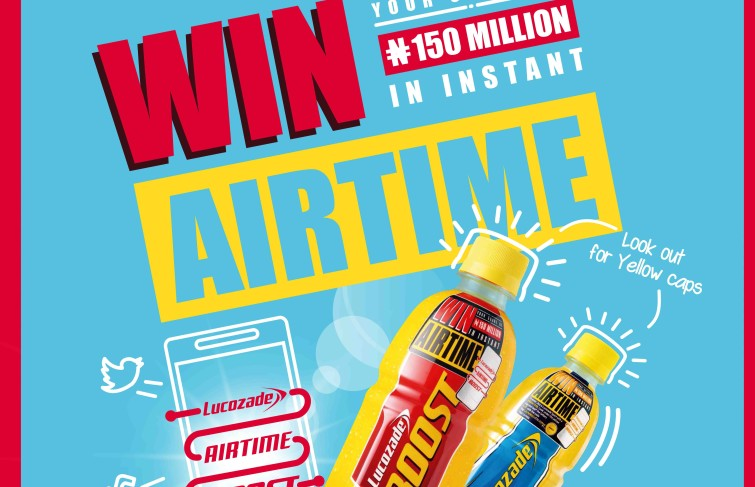 WIN LUCOZADE 150MILLION AIRTIME BOOST PROMO