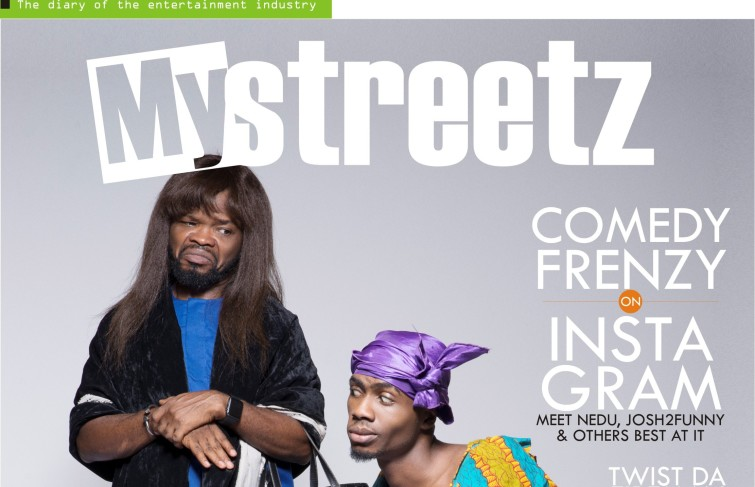 NEDU AND JOSH2FUNNY COVERS MYSTREETZ MAGAZINE