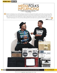 Sesan Adeniji/Kemi Smallz/ Mystreetz Magazine