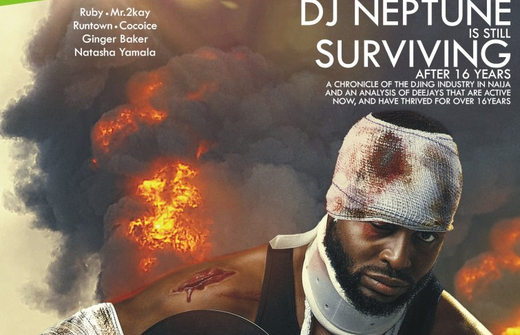DJ Neptune and the history of the Djing industry in Nigeria on the cover of Mystreetz Magazine