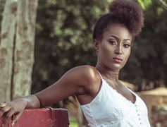 NYSHIRA BOATEMAA IS A PROUDLY GHANAIAN MODEL