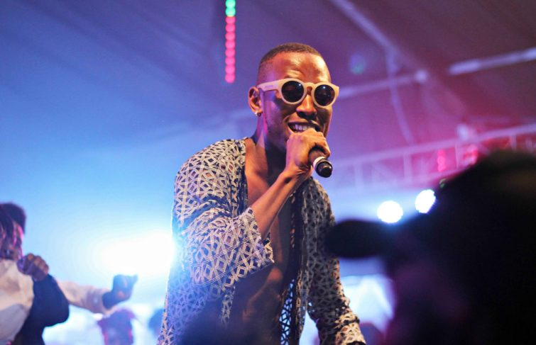 MR.2KAY EMPHATICALLY ELEVATED AT HIS ELEVATED CONCERT