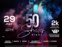 Shella Entertainment  Presents The Party tagged 50 Shades Night