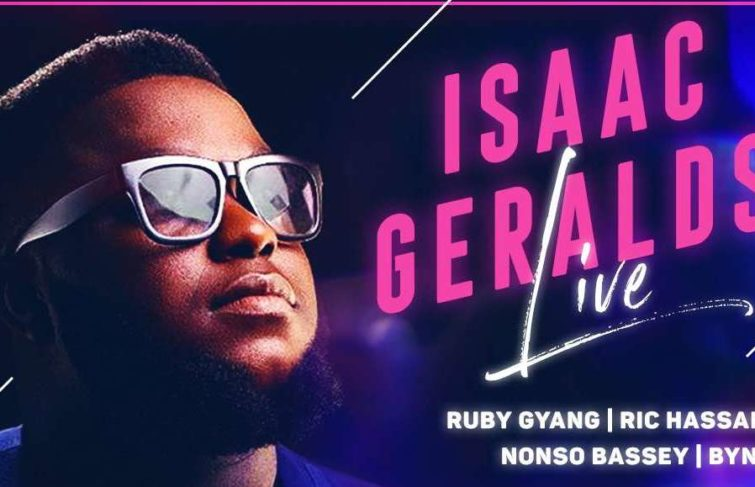 ISAAC GERALDS LIVE 'CONCERT' ON THE 9TH OF AUGUST IS A MUST ATTEND