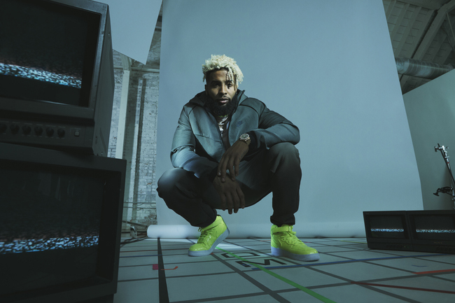 Nike teamed up with Odell Beckham Jr. and Nigel Sylvester to roll out Fall 2018 Tech